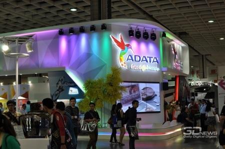 Computex 2016: DDR4-память и новые SSD на стенде ADATA