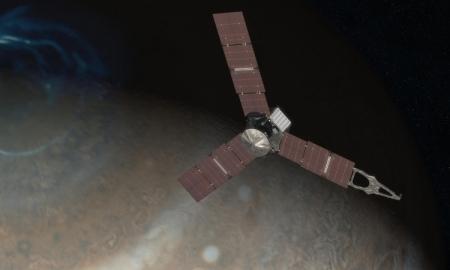 Станция «Юнона» выйдет на орбиту Юпитера через неделю