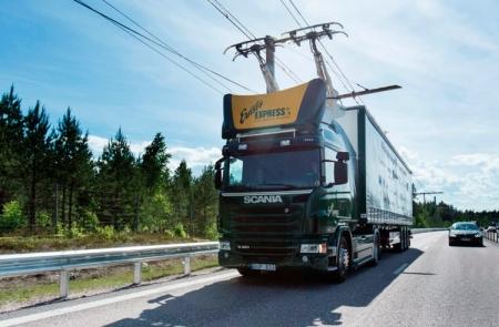 В Швеции появилась опытная трасса eHighway для электрогрузовиков