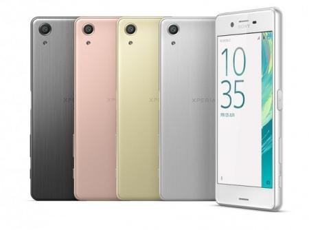 Sony назвала российские цены на смартфоны серии Xperia X