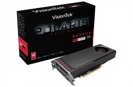 VisionTek Radeon RX 480, пониженные частоты и другие слухи