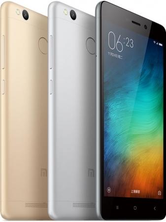 Xiaomi Redmi 3s с чипом Snapdragon 430 и сканером отпечатков пальцев за $106