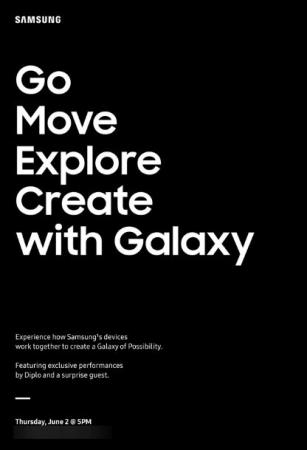 Samsung наметила на завтра мероприятие в Нью-Йорке