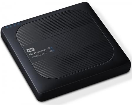 Портативный накопитель WD My Passport Wireless Pro поддерживает Wi-Fi