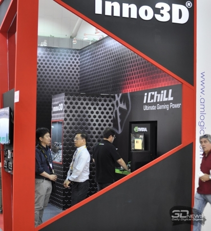 Computex 2016: видеокарты, системы охлаждения и 3D-принтеры inno3D