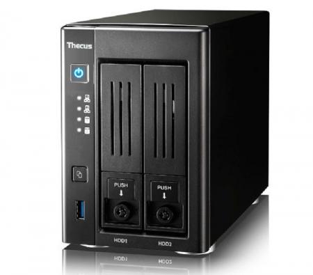 Thecus анонсировала NAS-хранилище N2810 Pro