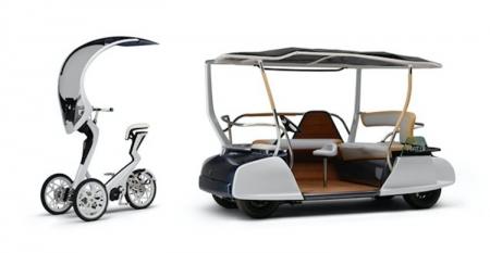 Фото дня: городской транспорт будущего в представлении Yamaha