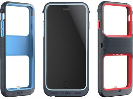 Чехол SanDisk для iPhone 6, увеличивающий память и время работы