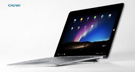Chuwi готовит планшет-трансформер с Remix OS и Windows 10