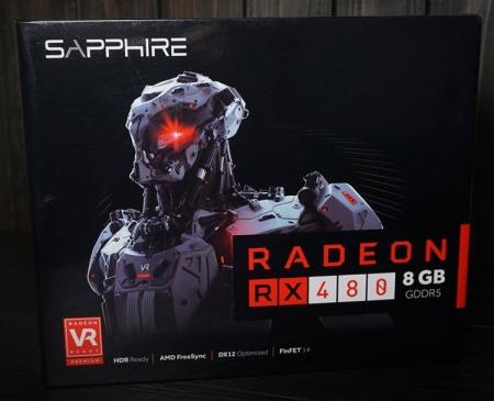 Подробные фото видеокарты Sapphire Radeon RX 480