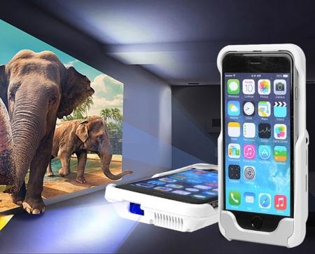 Футляр D9+ для iPhone 6 выполняет функции док-станции и пикопроектора