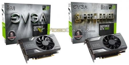 Первые фото видеокарт EVGA GeForce GTX 1060 и маленький сюрприз от KFA2