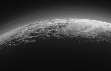 Видео дня: «посадка» станции New Horizons на Плутоне
