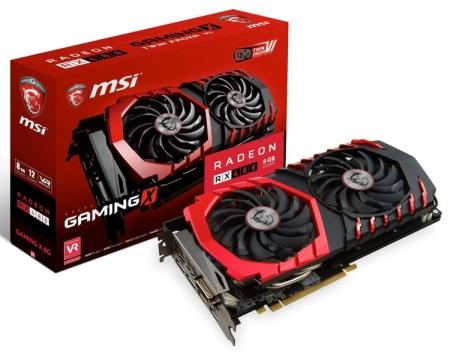 Фото видеокарты MSI RX 480 Gaming X и подробности о PowerColor RX 480 Red Devil