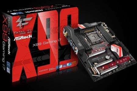 Плата ASRock Fatal1ty X99 Professional Gaming i7 поддерживает чипы Intel Broadwell-E