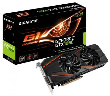 Новинки серии Gigabyte G1 Gaming используют чипы GP106 и Polaris 10