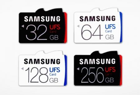В Samsung созданы первые в мире высокоскоростные карты памяти UFS