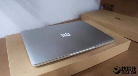 Первый ноутбук Xiaomi запечатлён на фото