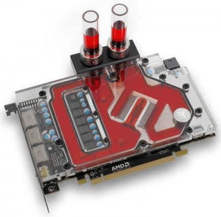 Водоблок EK-FC RX-480 для первого 14-нм Radeon вышел в четырёх версиях