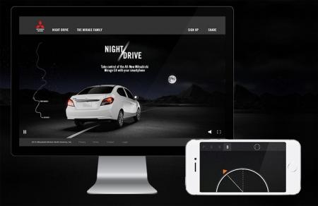 Виртуальный тест-драйв Mitsubishi: управляем автомобилем на ПК с помощью смартфона