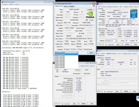 Десять Tesla M40 не смогли превзойти восемь Radeon R9 290X в тесте GPUPi 1B