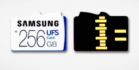 Samsung работает над гибридным слотом для карт памяти UFS иmicroSD