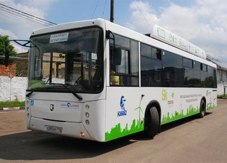 Электрический автобус «КАМАЗ» отправлен на доработку