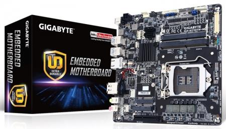 Дебютировала Thin Mini-ITX плата Gigabyte GA-H110TN-M