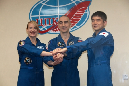 Экипаж 48/49-й длительной экспедиции на МКС готов к старту