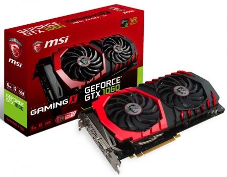 В семейство видеокарт MSI GeForce GTX 1060 вошли модели Armor и Gaming