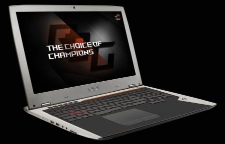 Игровой ноутбук ASUS ROG G701 подходит для систем виртуальной реальности