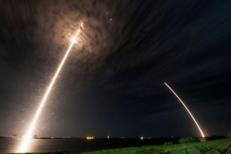 SpaceX успешно посадила ракету Falcon 9 на наземную площадку