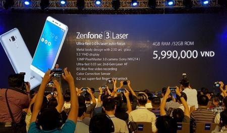 Анонс смартфонов ASUS Zenfone 3 Laser и Zenfone 3 Max на Android 6.0 Marshmallow