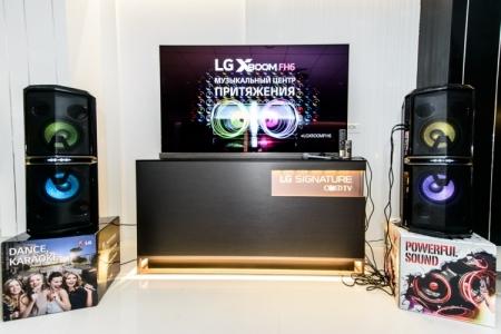 Аудиосистема LG X-BOOM FH6 представлена для российского рынка