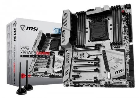 Плата MSI X99A XPower Gaming Titanium: для геймеров и энтузиастов