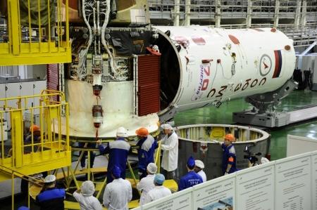 Ракета с кораблём новой серии «Союз МС» отправлена на «Гагаринский старт»
