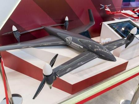 Российский дрон-конвертоплан RHV-35 развивает скорость до 140 км/ч