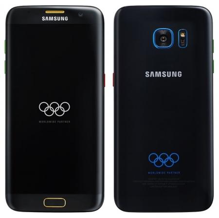 В Сети «засветилась» олимпийская версия Samsung Galaxy S7 edge