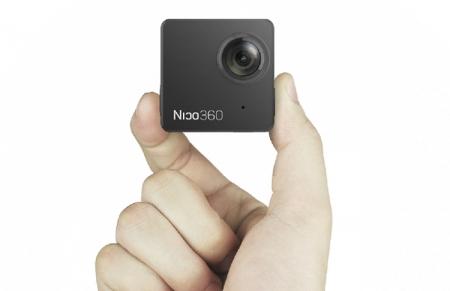Nico360: самая маленькая в мире панорамная камера с поддержкой круговой видеозаписи