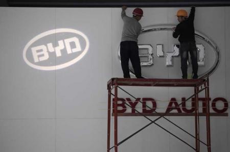Samsung договаривается о покупке акций производителя электромобилей BYD