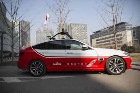 Baidu обещает наладить производство беспилотных машин через 5 лет