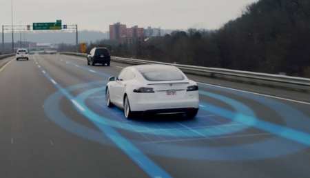 Электромобили Tesla получат автопилот второго поколения