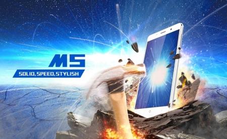 Прочный смартфон Leagoo M5 с дактилоскопическим сенсором стоит $70