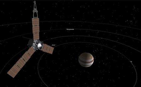 Фото дня: первый взгляд станции «Юнона» на Юпитер