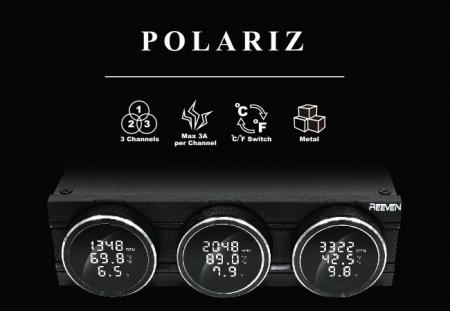 Панель управления Reeven Polariz сочетает аналоговые и цифровые технологии