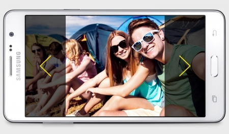Смартфон Samsung Galaxy Wide построен на платформе Snapdragon 410