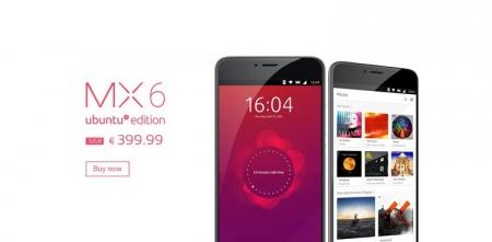 Meizu готовит смартфон MX6 Ubuntu Edition с 10-ядерным процессором