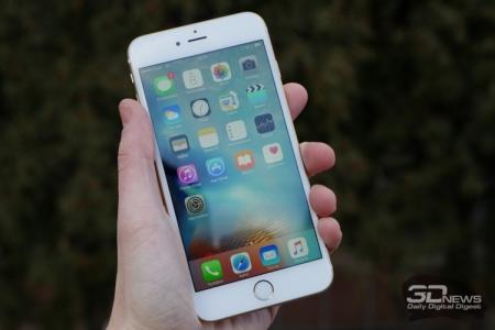 WSJ: iPhone 7 получит от 32 Гбайт флеш-памяти