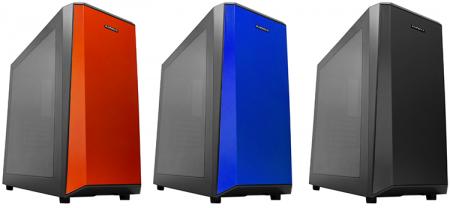 Корпус RAIDMAX DELTA I предлагается в трёх цветовых вариантах