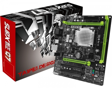 Системная плата SUPoX J3160MX7 несёт на борту процессор Intel Braswell